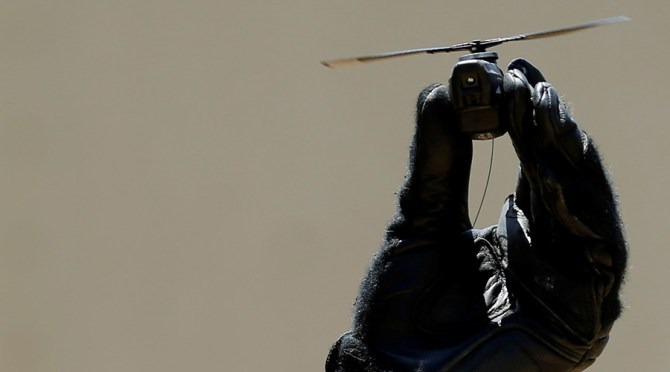 FILE PHOTO:  Black Hornet Drone © Mike Blake