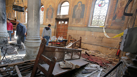 Aanval op kathedraal Cairo