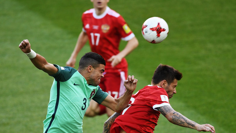 Russia   Portugal Ronaldo Gives European Champs The Lead In Moscow Confed Cup