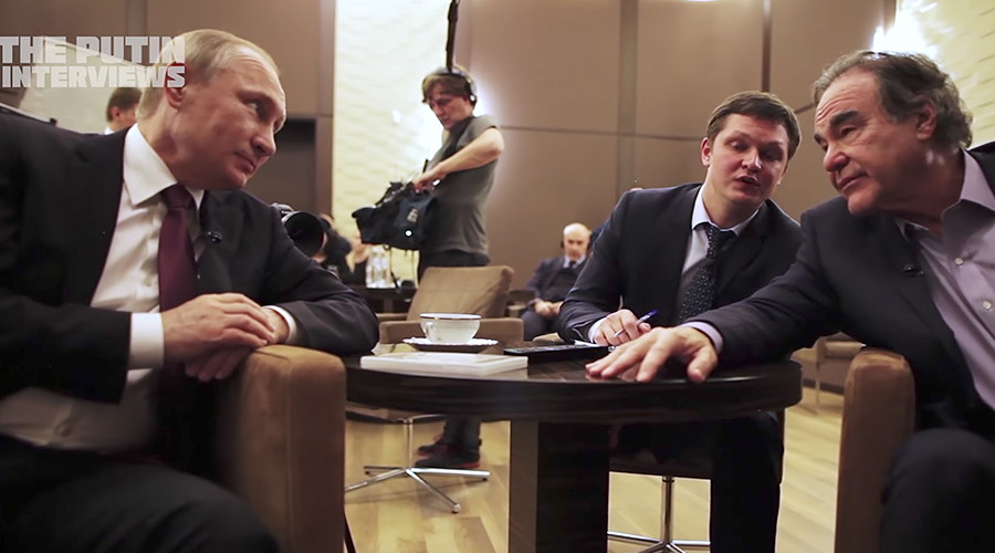 Stone's 'Putin Interviews' offends a US establishment drunk on its own exceptionalism