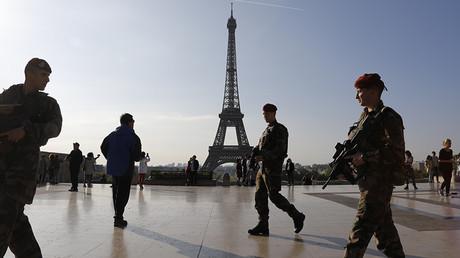 FOTO: Los soldados franceses de la