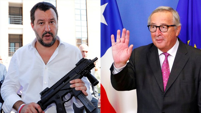 Is Salvini the new Juncker? Eurosceptics push Italian minister as a president of European Commission