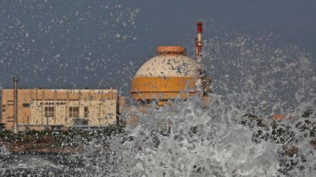Kudankulam nuclear power project in India © Adnan Abidi