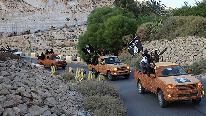 ISIS fighters in Derna, eastern Libya (Reuters / Stringer)