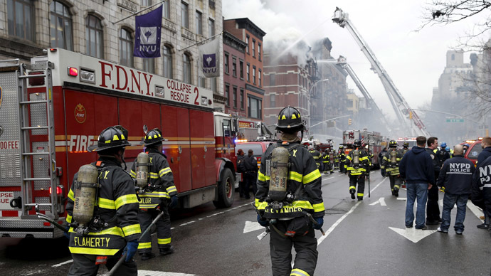 2 missing after explosion  fire in Manhattans trendy