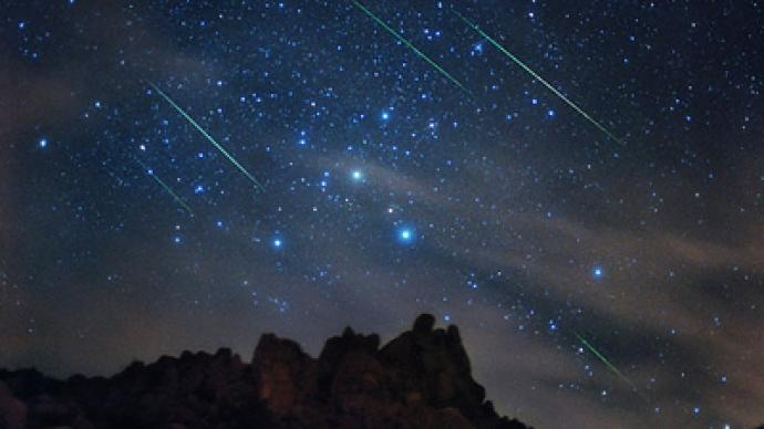 Its raining meteors Perseids make annual appearance  RT