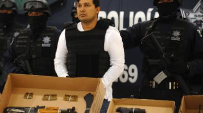 Slain cartel leaders body stolen in Mexico  RT News