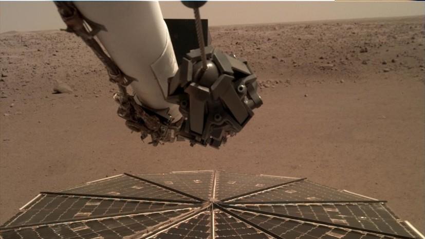 La NASA registra el ruido del viento en Marte