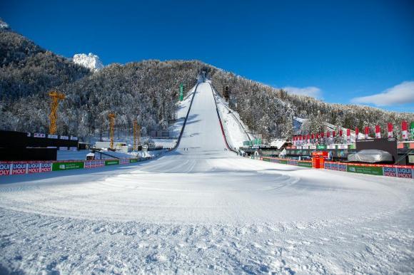 RTV Slovenija je poleg pravic za prenose tekem svetovnega pokala pridobila tudi pravice za prenose svetovnih prvenstev v alpskem in nordijskem smučanju, deskanju in smučanju prostega sloga leta 2023 in 2025. Posebno vrednost ima nordijsko svetovno prvenstvo leta 2023, ki bo v Planici. Foto: Adrian Pregelj, RTV Slovenija