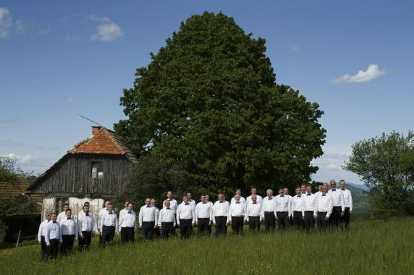 Združeni moški pevski zbori Občine Šentjur. Foto: Željko Stevanić