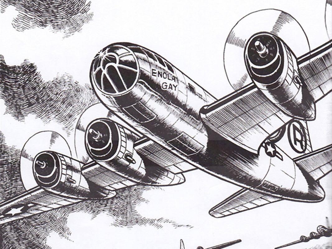 El Enola Gay, que lanzó la bomba atómica sobre Hiroshima