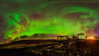 Sigue en directo las auroras boreales desde Islandia y ...