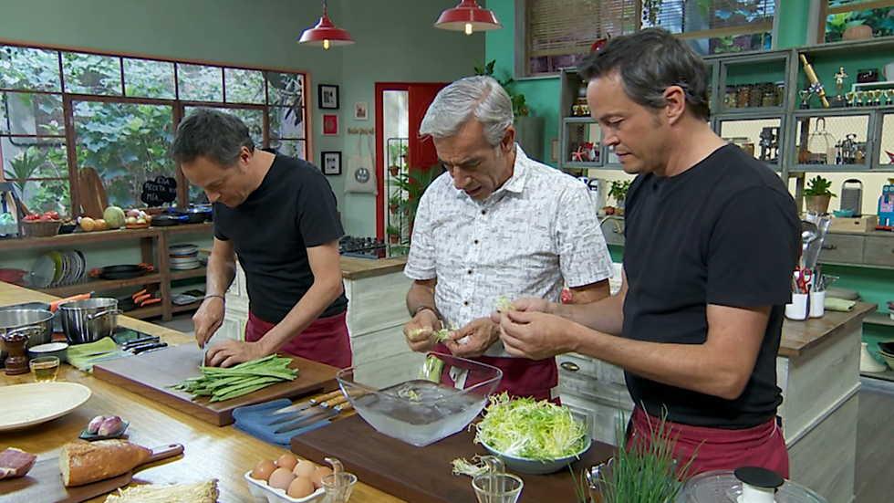 Torres en la cocina  Ensalada de judas y manitas