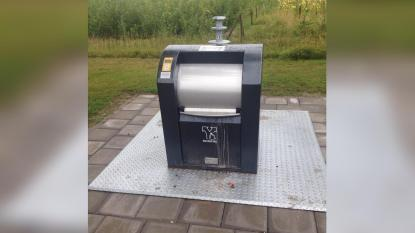 Afvalcontainer in Hengelo