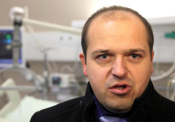 General Director of UKC LJ Janez Poklukar.  Photo: BoBo
