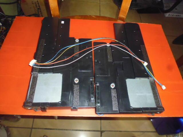液晶電視維修零件板便宜賣很大喇叭- SAMSUNG UA55H6800AW-55吋面板破屏拆賣1000元 - 露天拍賣