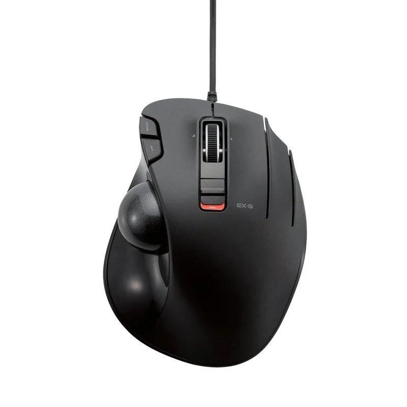 北車實體門市 ELECOM M-XT2URBK 有線 拇指 軌跡球 滑鼠 - 露天拍賣