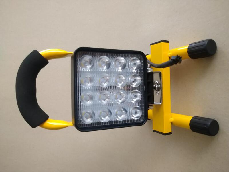 [昇和五金]12V 24V 48W 照度4320流明 強力磁鐵座 LED工作燈 露營燈 照明燈 探照燈 維修 防水 修車 - 露天拍賣