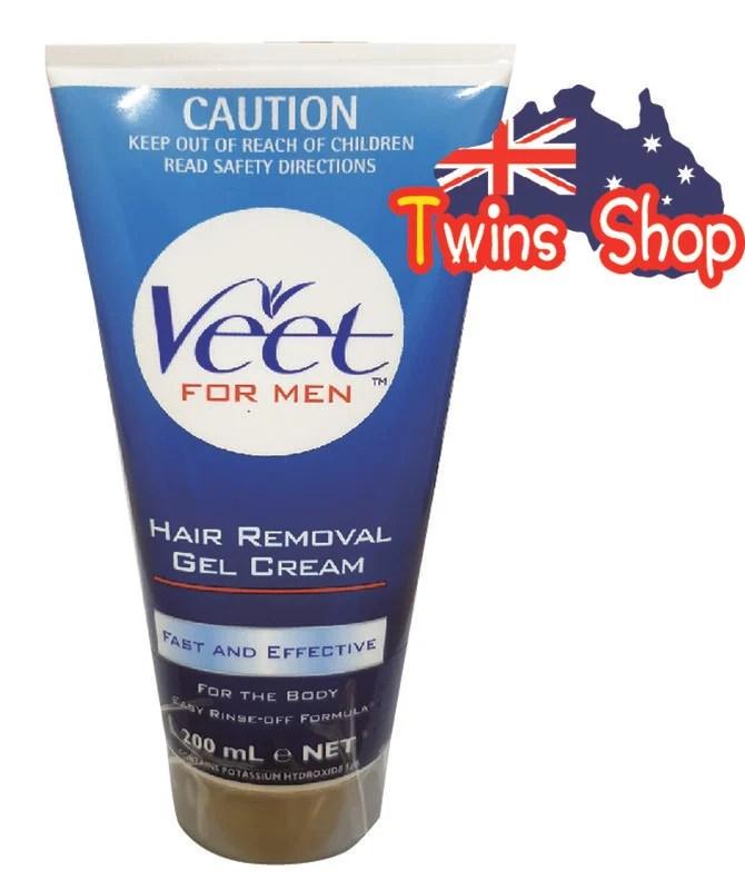 (現貨)** Twins shop澳洲代購** 法國Veet薇婷男士專用無痛除毛膏200G - 露天拍賣