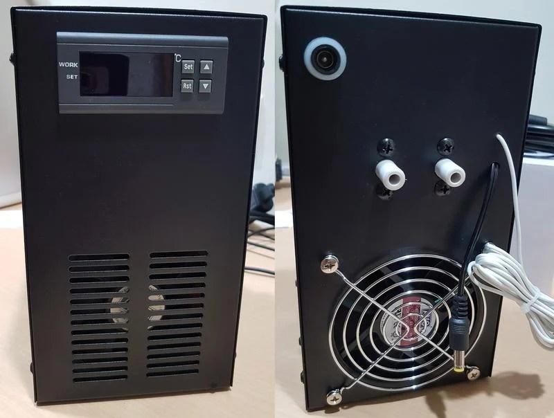 【魚樂城水族精品】【最強晶片版】全新黑金鋼-40L缸冷卻幾-CMOS電子冷卻機冷水機110V/220V共用。下殺↓ - 露天拍賣