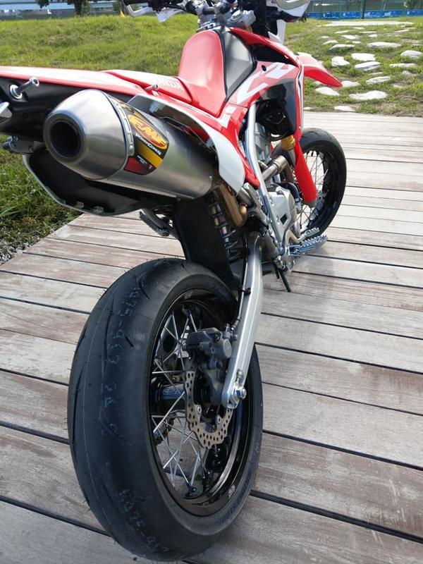 CRF250L CRF250M CRF250RALLY 競技版規格EDIS滑胎框   露天拍賣
