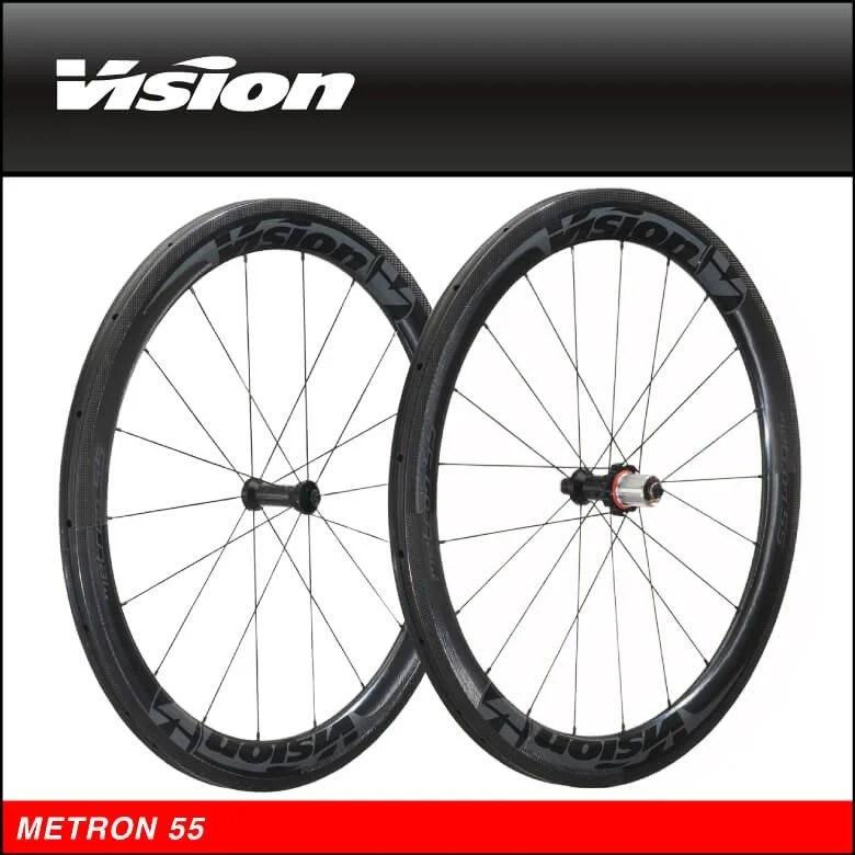 臺中巡揚單車-FSA VISION METRON 55空氣力學輪組/胖胖胎/管胎/飈速神器 非MAVIC ZIPP - 露天拍賣