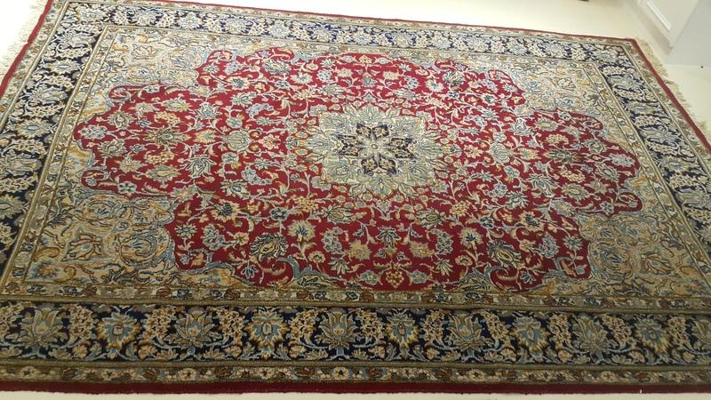 純手工編織波斯地毯(原價45000) | 露天拍賣