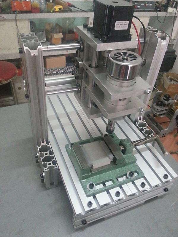 小型CNC雕刻機2030 DIY全鋁數控電腦加工機MACH3合金 - 露天拍賣