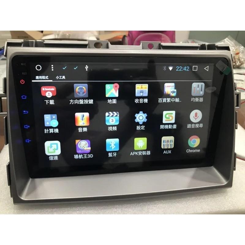 豐田 TOYOTA Previa 9吋 大螢幕 四核心 安卓版專用主機 Android/導航/藍牙音樂/GPS - 露天拍賣