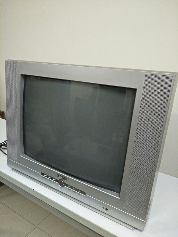聲寶映像管21吋電視 - 露天拍賣