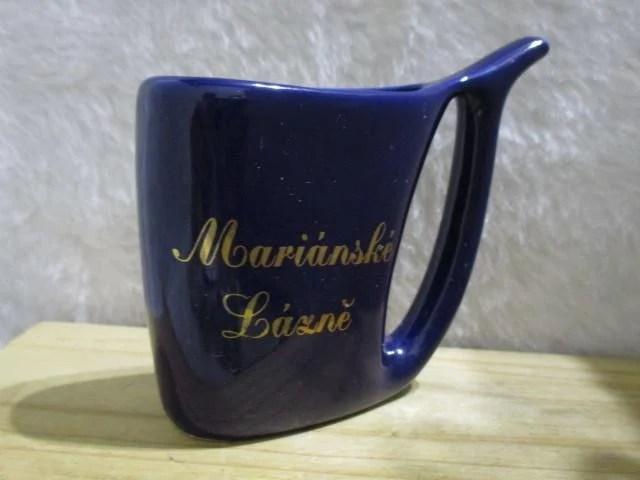 捷克Marianske Laxne瑪麗安斯基藍澤 溫泉杯 - 露天拍賣