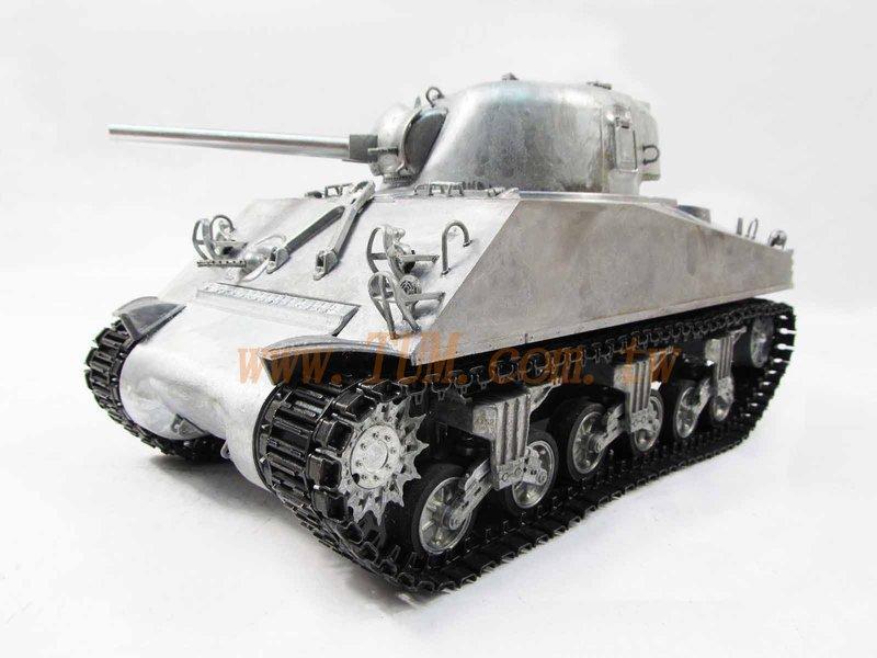 恆龍 MATO經典款100%全金屬 遙控坦克 1/16M4A3 雪曼 3898 搭配金屬拉桿箱 金屬模型 - 露天拍賣
