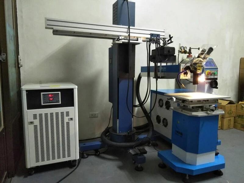 全新 雷射焊補 維修買賣 YAG 200W 雷射補模機 雷射焊接機 雷射點焊機 首飾焊接機 220V 6KVA   露天拍賣