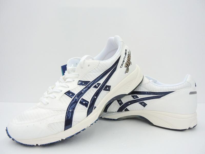 2019 限量asics 亞瑟士 日本製 TARTHER JAPAN 虎走 馬拉松鞋 路跑鞋(1013A007-100) - 露天拍賣