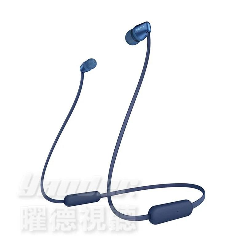 【曜德☆收納袋】預購 SONY WI-C310 無線藍牙入耳式耳機 續航力15H - 露天拍賣