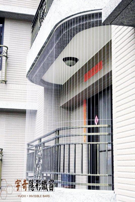 隱形鐵窗.防護安全網.安全防護網(宇奇隱形鐵窗)新竹臺中皆有服務 ~~可刷卡~~ - 露天拍賣