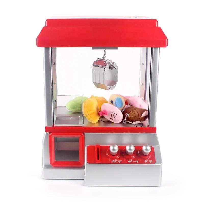☆小鶯號☆歐寶 兒童迷你娃娃機 夾公仔機 夾娃娃機 抓娃娃機 糖果扭蛋機 電動玩具 - 露天拍賣