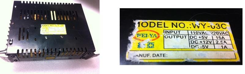 二手WEI-YA維亞電源供應器(WY-03C) - 露天拍賣