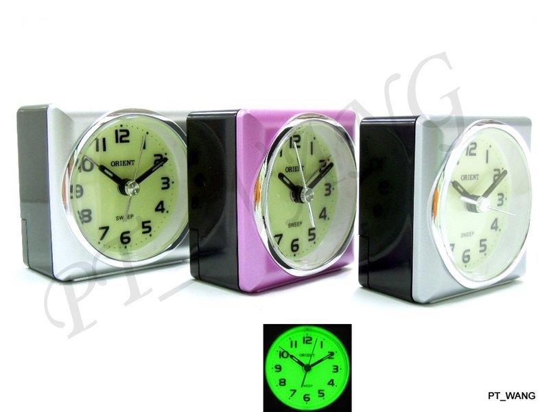 PT屏信時計 》》 日本 東方 ORIENT 超強夜光 靜音 時鐘 鬧鐘 AQ-112.AQ112 - 露天拍賣