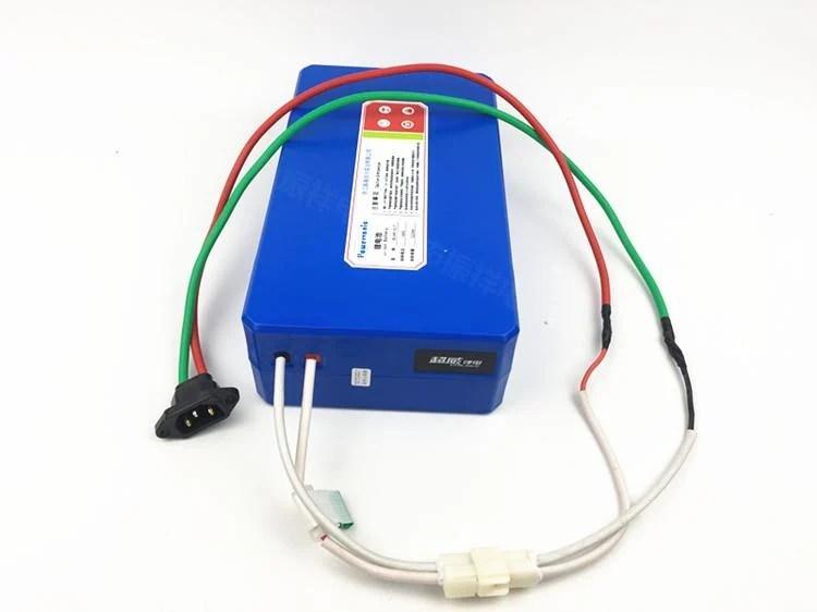 [限時優惠價]超威鋰電池 電動車鋰電池 48V11A 4811LT款   露天拍賣