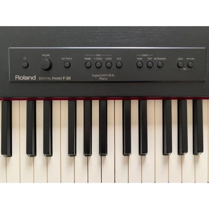三一樂器 二手 Roland F-20 數位鋼琴 電鋼琴 - 露天拍賣