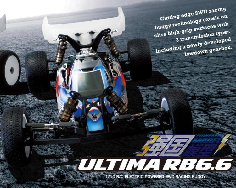 【巨將】 日本Kyosho京商1/10 KIT ULTIMA RB6.6遙控電動二驅越野車34302 - 露天拍賣