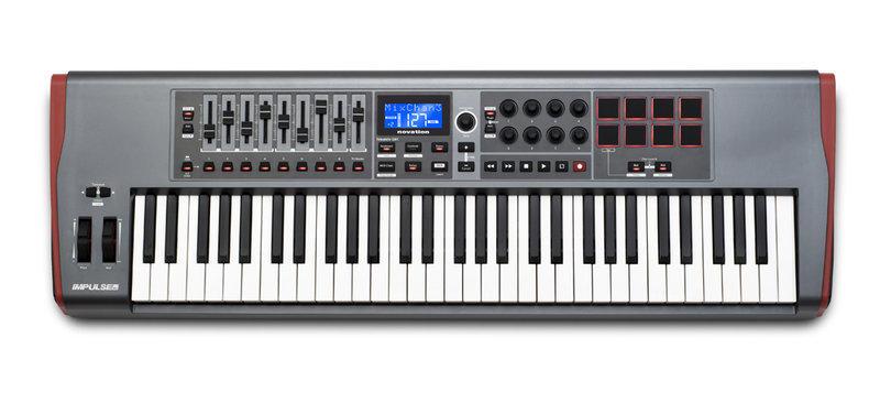 【搖滾鍵盤】全新公司貨 Novation Impulse 61 USB MIDI 主控鍵盤*總代理2年保固(有全新現貨) - 露天拍賣