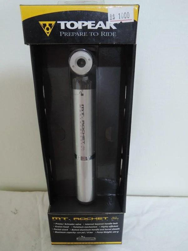 TOPEAK 打氣筒 可打到160PSI 原價1000特價700 - 露天拍賣