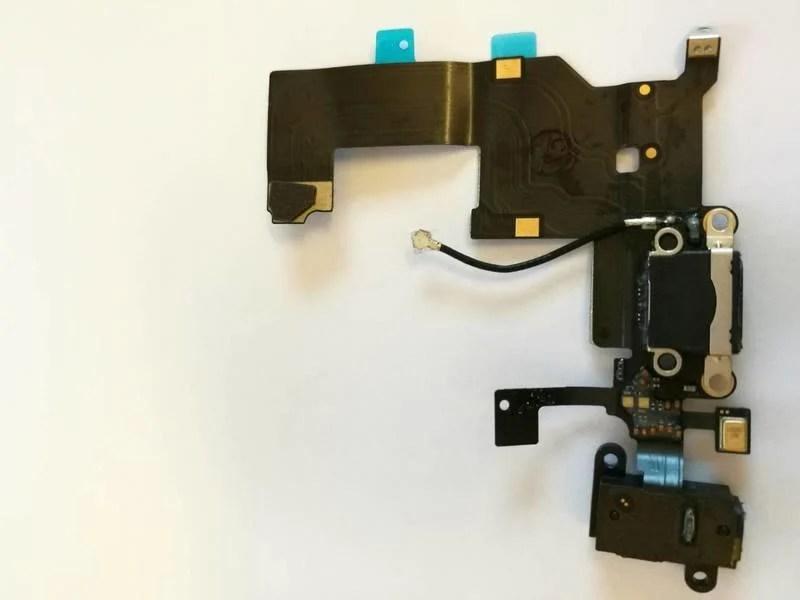 [一年保固]iPhone 5/ iPhone 5S維修零件 尾插排線/充電排線 耳機孔 充電孔 壞掉 故障 維修 - 露天拍賣