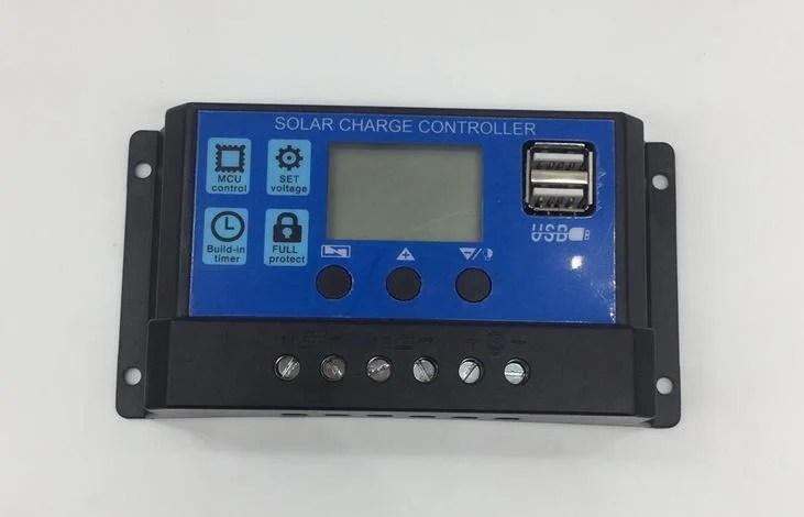 太陽能控制器30A12V24V通用 郵局掛號免運費 - 露天拍賣