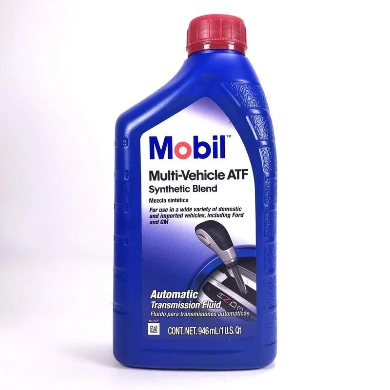 [機油倉庫]附發票 MOBIL Multi-Vehicle ATF自動變速箱油 - 露天拍賣