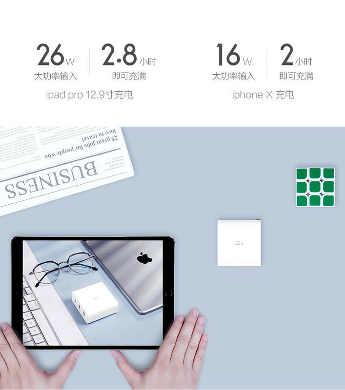 臺灣現貨 小米 紫米 65w PD充電器USB-C MacBook Gram IPad Switch 快速充電器 - 露天拍賣