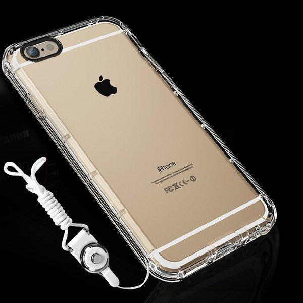 摔給你看 掛繩氣墊防摔空壓殼 iphone 7 plus iphone 6 s plus 手機殼保護殼保護套 【H03】 - 露天拍賣