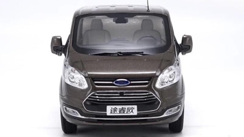 DSCAR 1:18 原廠 福特 旅行家 途睿歐 商務車 Ford MPV 合金汽車模型 | 露天拍賣